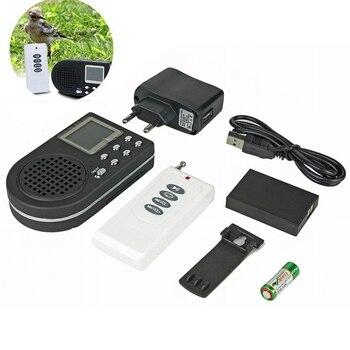 Reproductor de Mp3 con llamadas de pájaros, decodificador de sonido, altavoz inalámbrico con enchufe europeo