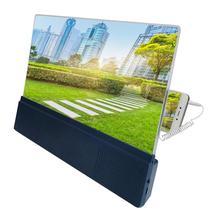 12 дюймов экран Лупа 3D мобильный телефон экран видео усилитель с двумя способами зарядки хороший подарок для защиты глаз