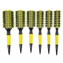 Professional Hair Brush Thermal Ceramic Ion Round Barrel Comb Hairdressing Hair Salon Styling Drying Curling Tools все цены