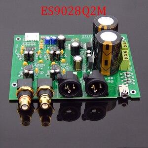Image 3 - ES9028Q2M ES9038Q2M DACสำหรับHifiเครื่องขยายเสียงถอดรหัสXLR Out I2SอินพุตรองรับI2S 32bit 192K DSD64 128 256