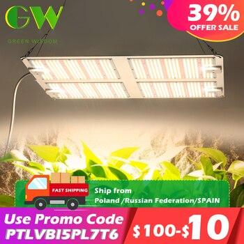 1000W 2000W 4000W Quantum Grow Light Sunlike Full Spectrum LED Phyto Lamp for Plant Hydroponic Greenhouse VEG BLOOM Growth Light 1