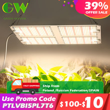 1000W 2000W 4000W Quantum Grow Light Sunlike Full Spectrum LED Phyto Lamp for Plant Hydroponic Greenhouse VEG BLOOM Growth Light