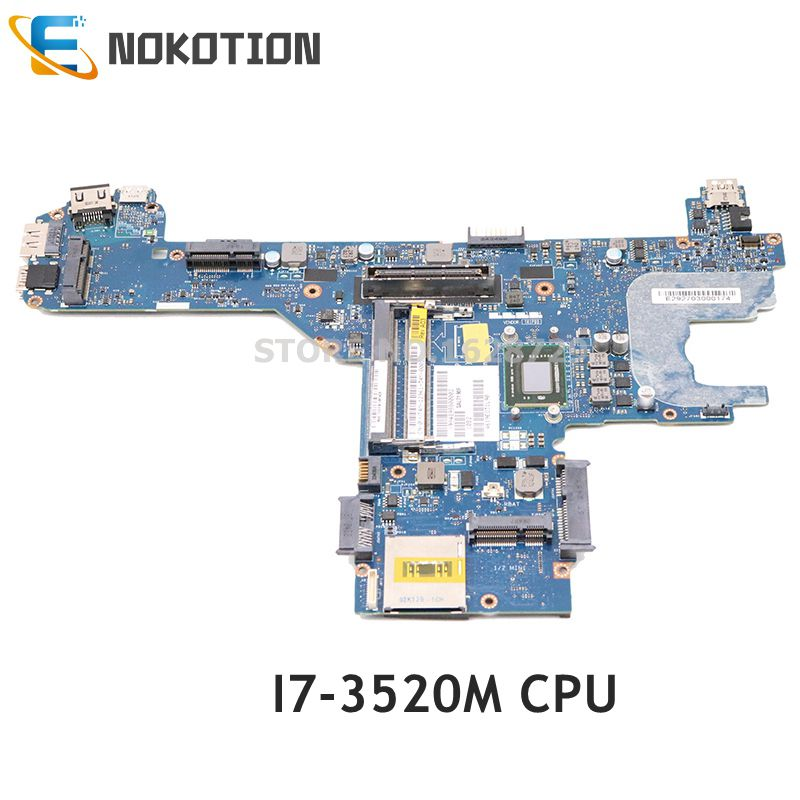 NOKOTION CN-0D3RGW 0D3RGW D3RGW For DELL Latitude E6330 E6430 Laptop Motherboard <font><b>I5</b></font>-<font><b>3340M</b></font> CPU QAL70 LA-7741P MAIN BOARD image