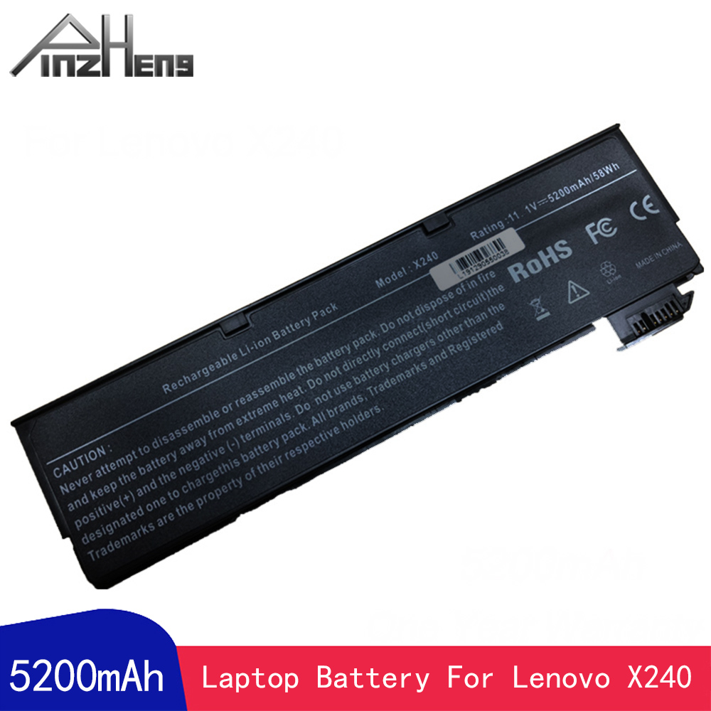 PINZHENG Laptop <font><b>Battery</b></font> For <font><b>Lenovo</b></font> ThinkPad X240 X250 <font><b>T440</b></font> T440s T450s K2450 45N1124 45N1125 45N1126 Laptop <font><b>Battery</b></font> image