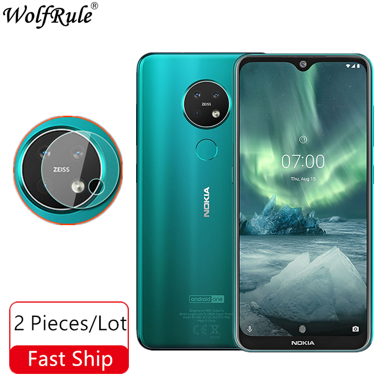 Lens Camera Tempered Glass For Nokia 7.2 Camera Glass Nano Protective Film For Nokia 7.2 6.2 Lens Glass For Nokia 6.2 6.3