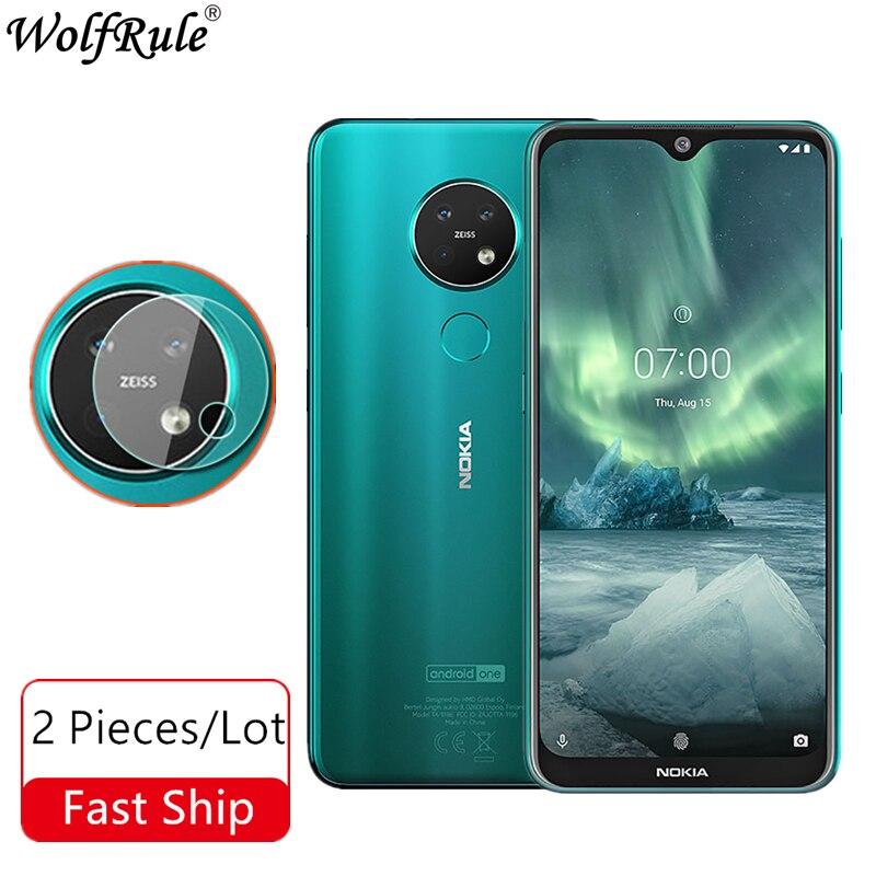 Lens Camera Tempered Glass For Nokia 7.2 Camera Glass Nano Protective Film For Nokia 7.2 6.2 Lens Glass For Nokia 6.2 6.3