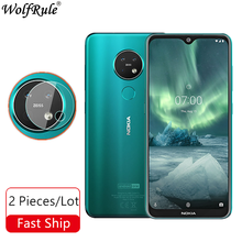 Lens Camera Tempered Glass For Nokia 7.2 Camera Glass Nano Protective
