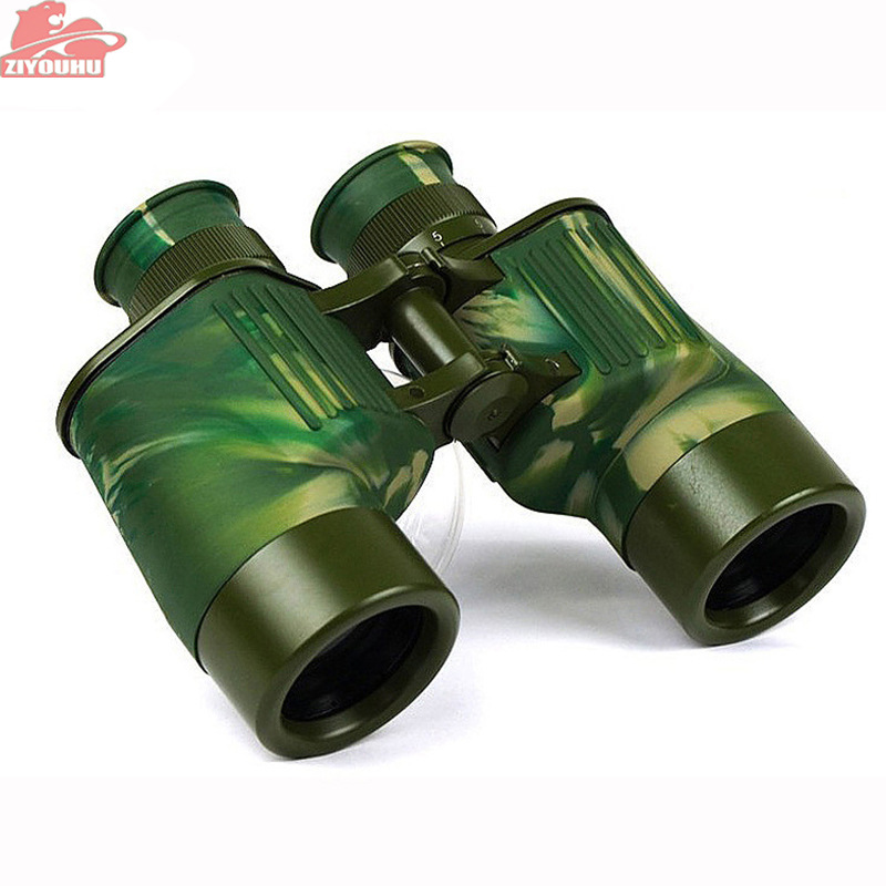 New Military <font><b>Binoculars</b></font> 40mm Big Eyepieces Waterproof Camouflage Telescope Hunting For Outdoor Activities Camouflage Design image