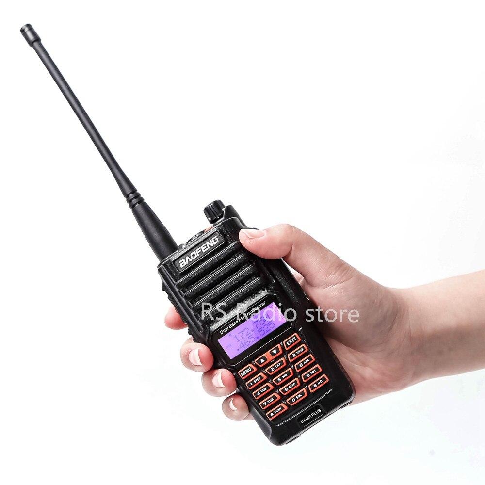 10W Baofeng UV-9R PLUS Waterproof  Walkie Talkie UHF VHF Handheld Transceiver Amateur Ham Radio Station Hunting Radio UV9R 6