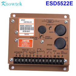 Engine Controller ESD5522E Speed Control Governor Unit Replace Diesel Generator