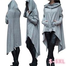Autumn Hoodies Women Casual Long Sleeve Sweatshirt Clothes Pullover Hoddies Streetwear Female Plus Size 4XL 5XL