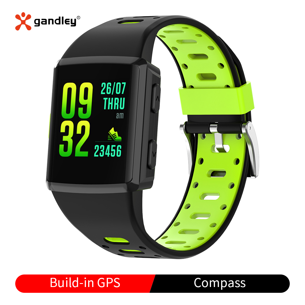 Monitor de Freqüência Ip68 à Prova Relógio Inteligente Água Cardíaca Sono Multi-esporte Relógios Inteligentes Android m3 Gps Dip68