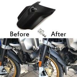 Para bmw r1200gs r 1200gs gs adv lc r1200 motocicleta fender extensão da roda dianteira paralama respingo guarda 2014 2015 2016 2017 2018
