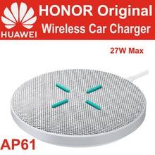 Bezprzewodowa ładowarka HUAWEI HONOR SuperCharge maks. 27W AP61Qi standardowa TÜV dla P40 Mate 30 Pro HONOR V30 Pro iPhone 11 Pro Max XS X