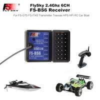 FS-BS6 receptor 2,4 Ghz 6CH AFHDS2 Buillt-En giroscopio para FlySky FS-GT5 FS-IT4S transmisor RC para HPS HPI RC coche barco