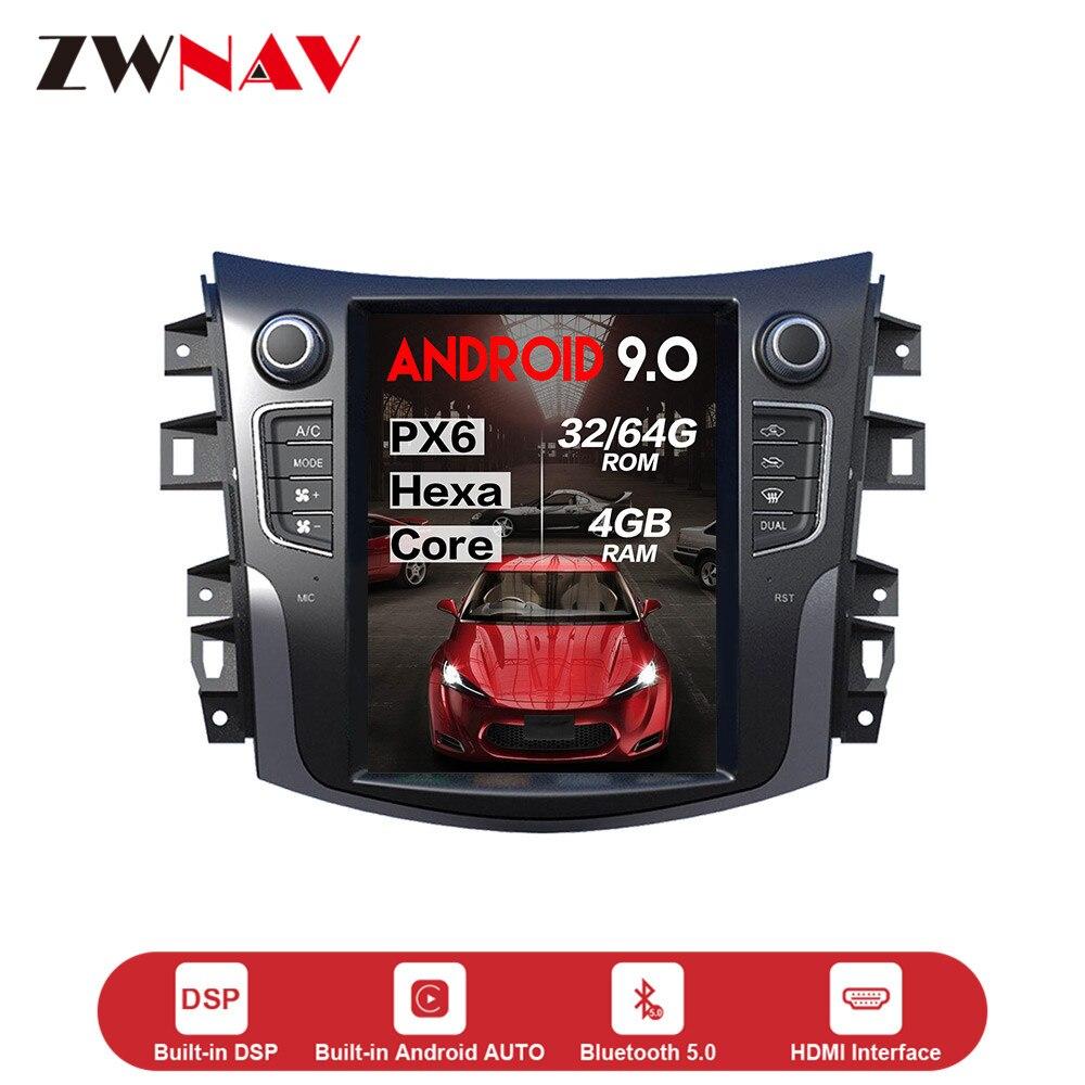 Lecteur multimédia Vertical de voiture du style Android 9.0 de Tesla pour NISSAN XTerra 2014 + voiture GPS NAVI stéréo radio magnétophone unité principale