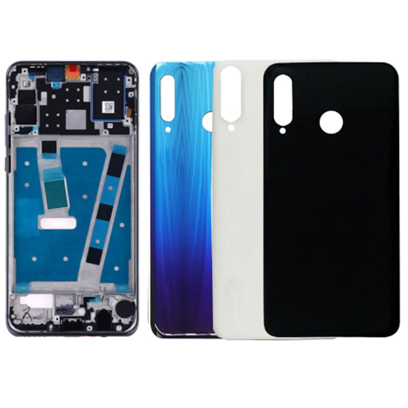 Replacement For Huawei P30 Lite/nova 4E Middle Frame Front Lcd Housing Cover Bezel Plate Chassis Faceplate +Battery Back Cover