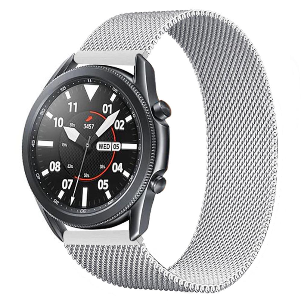 20 мм 22 мм ремешок с магнитной пряжкой для Samsung Galaxy Watch 3 45 мм/Active 2 40 мм 44 мм Gear S3 Frontier браслет Huawei GT 2 Pro