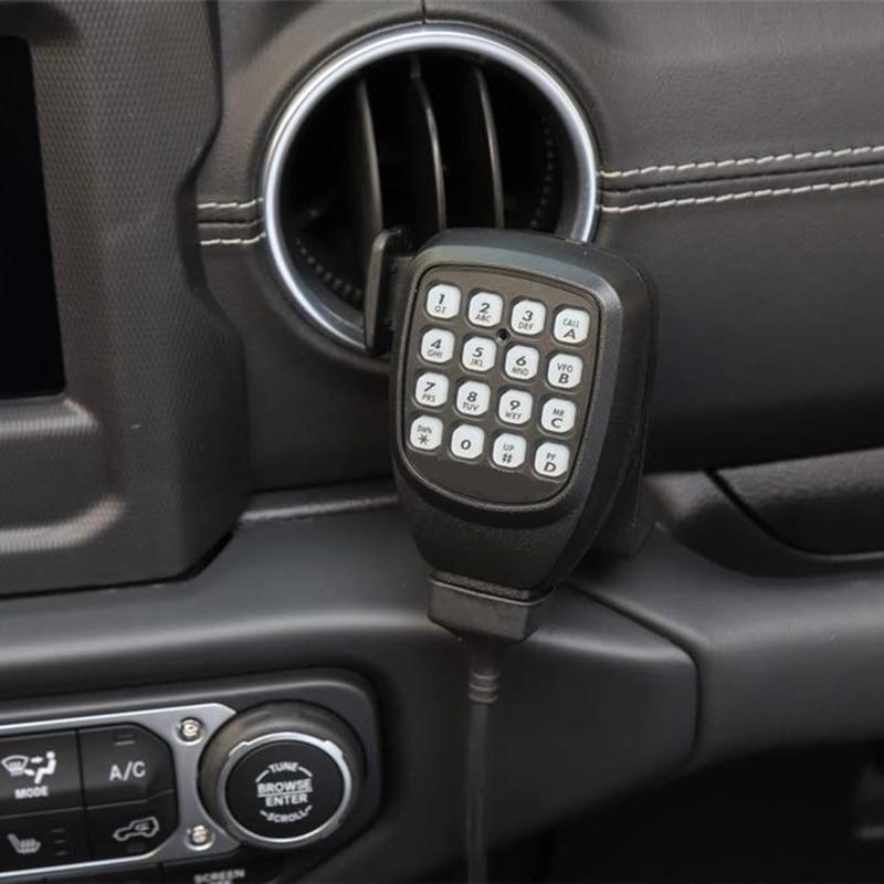 microfone radio walkie talkie suporte de montagem 02