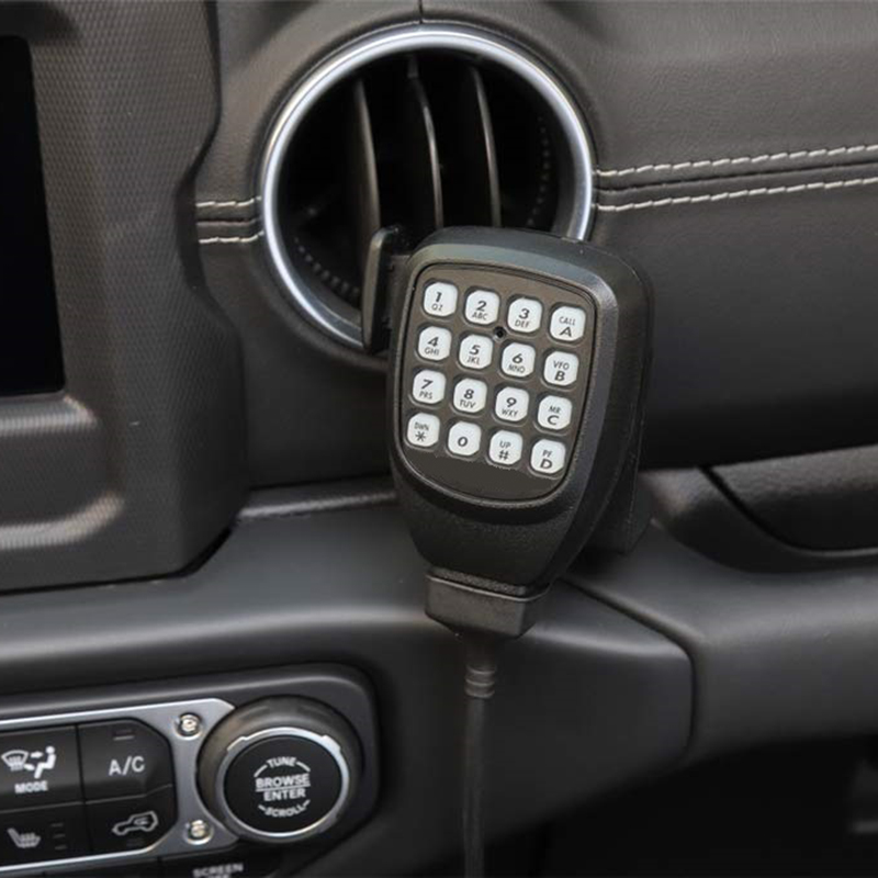 microfone rádio walkie talkie suporte de montagem
