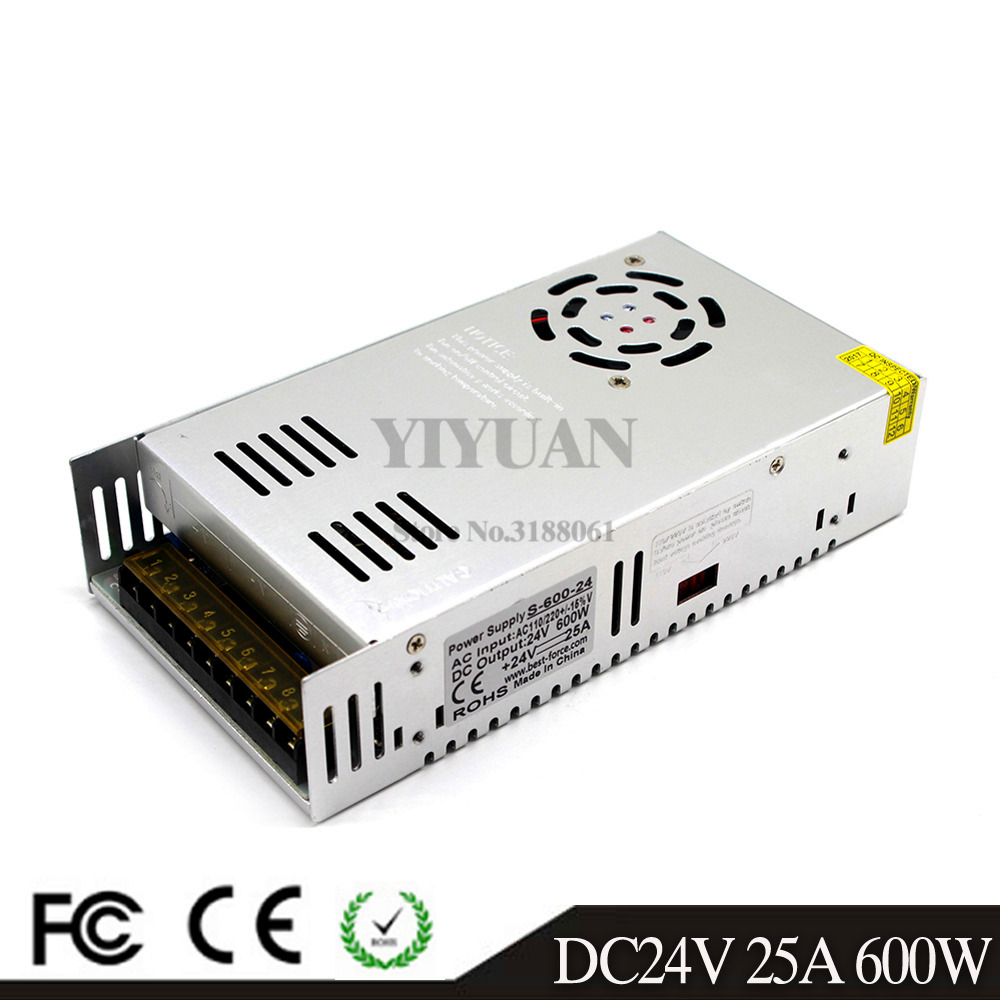 24V600W