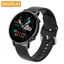 MISIRUN S33 חכם שעון גברים אישה IP67 עמיד למים Bluetooth שיחת מוסיקה CaBlood לחץ קצב לב ספורט Smartwatch
