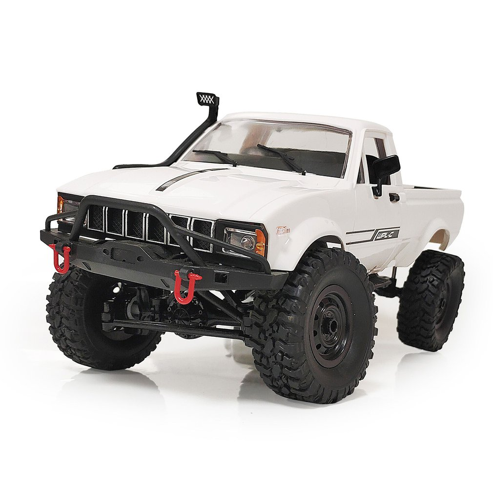 WPL C24-1/C-24-1K KIT Remote Control Car Full Scale Four-wheel Drive Off-road Truck Children Electric Remote Control Car Model