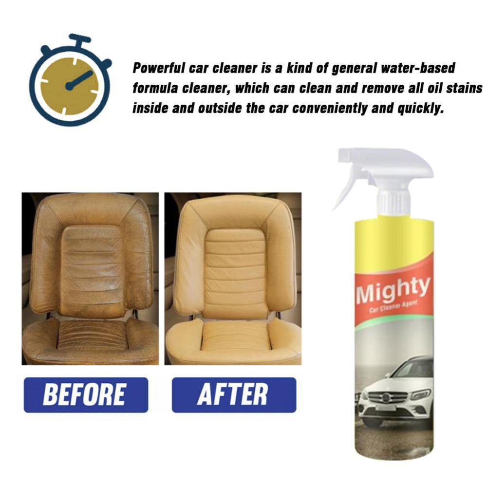Car Cleaner Agent For Automobile Interior Multipurpose Leather Cleaner Car Glass Window Cleaning Maintenance 30ml/100ml