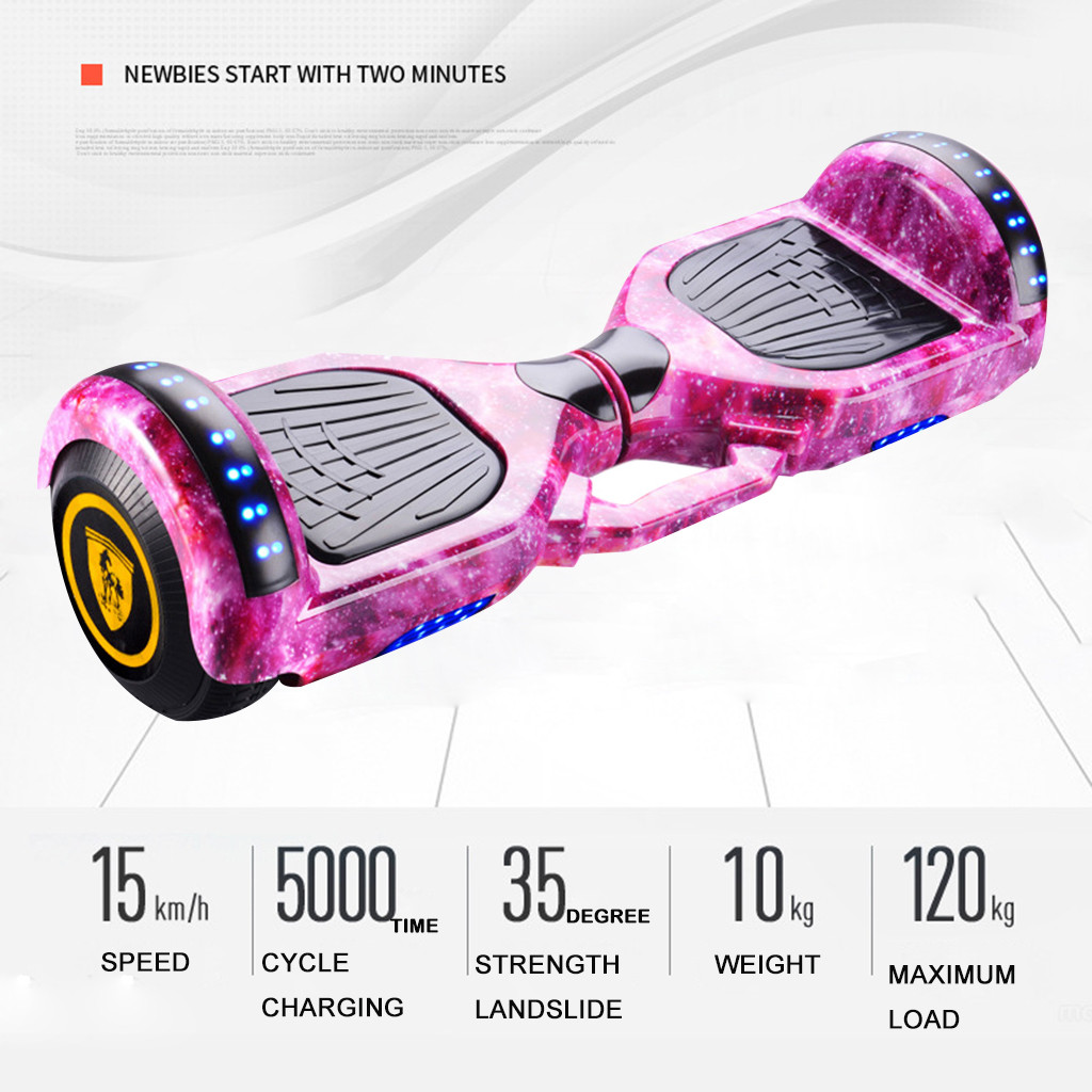 Wheel Scooter Skateboard Self-Balancing Bluetooth