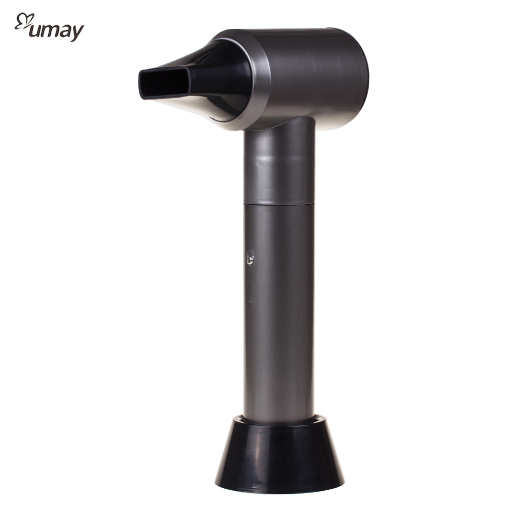 Rechargeable Hair Dryer With Hot Wind And Cold Wind Lithium Battery Wireless Hair Dryer Outdoor Travel Hair Straightener