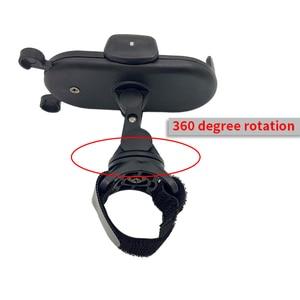 Image 4 - Rk 360 gradi ruota accessori passeggino supporto universale staffa di montaggio regolabile supporto per cellulare nero bianco rosa