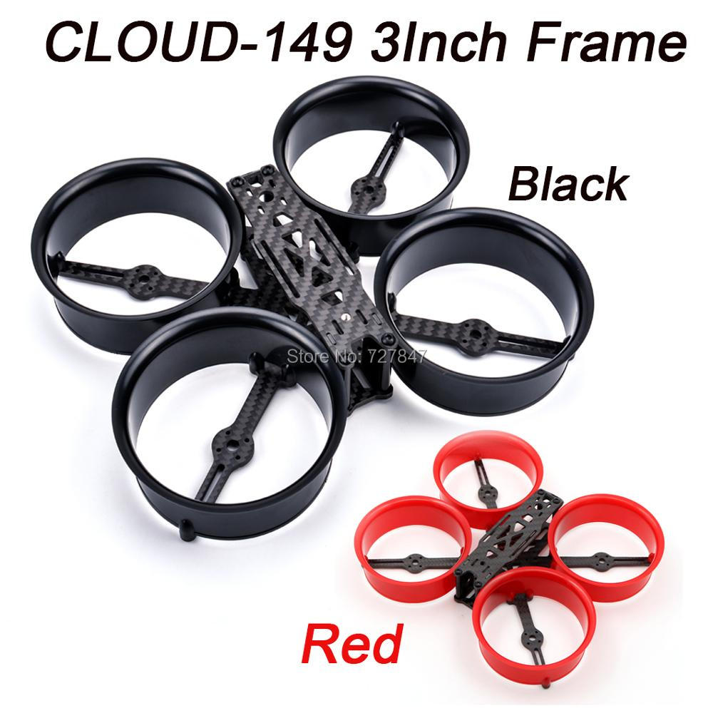 CLOUD 149 149mm 3 Inch Frame Kit X type ABS Carbon Fiber CLOUD 149 for RC Drone FPV Racing
