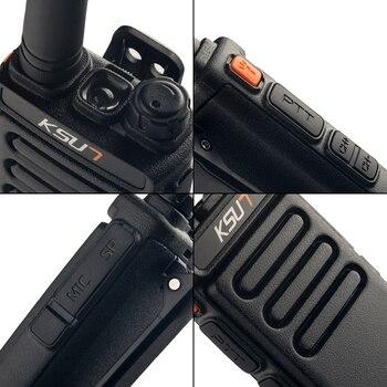 1 Or 2PCS KSUN X65 Talkie Walkie Scanner  UHF Walkie Talkie 10KM Two Way Ham Radio Station Radio  Comunicador Walkie-talkie 3