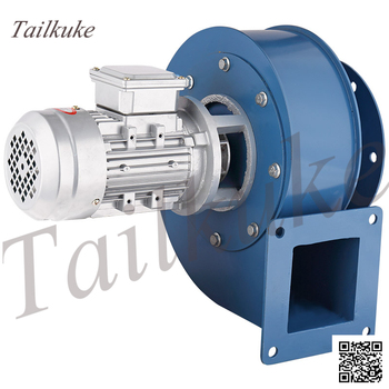 Industrial Small Boiler Induced Draft Fan High Temperature Resistant Centrifugal Exhaust Fan Smoke Dust Exhausting Powerful 380V
