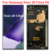 Original AMOLED 6.9'' N986 LCD For Samsung Galaxy Note 20 Ultra LCD Display Touch Screen With Frame Assembly SM- N986B N985F LCD