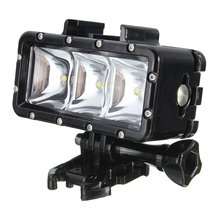 300LM 2.8W 30M Underwater Waterproof LED Video Light Lamp for GoPro / SJCAM