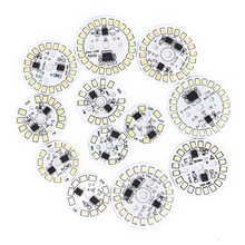 Светодиодный чип нашивка-лампочка лампа SMD пластина круглый Модуль светильник источник пластина для ламповый светильник