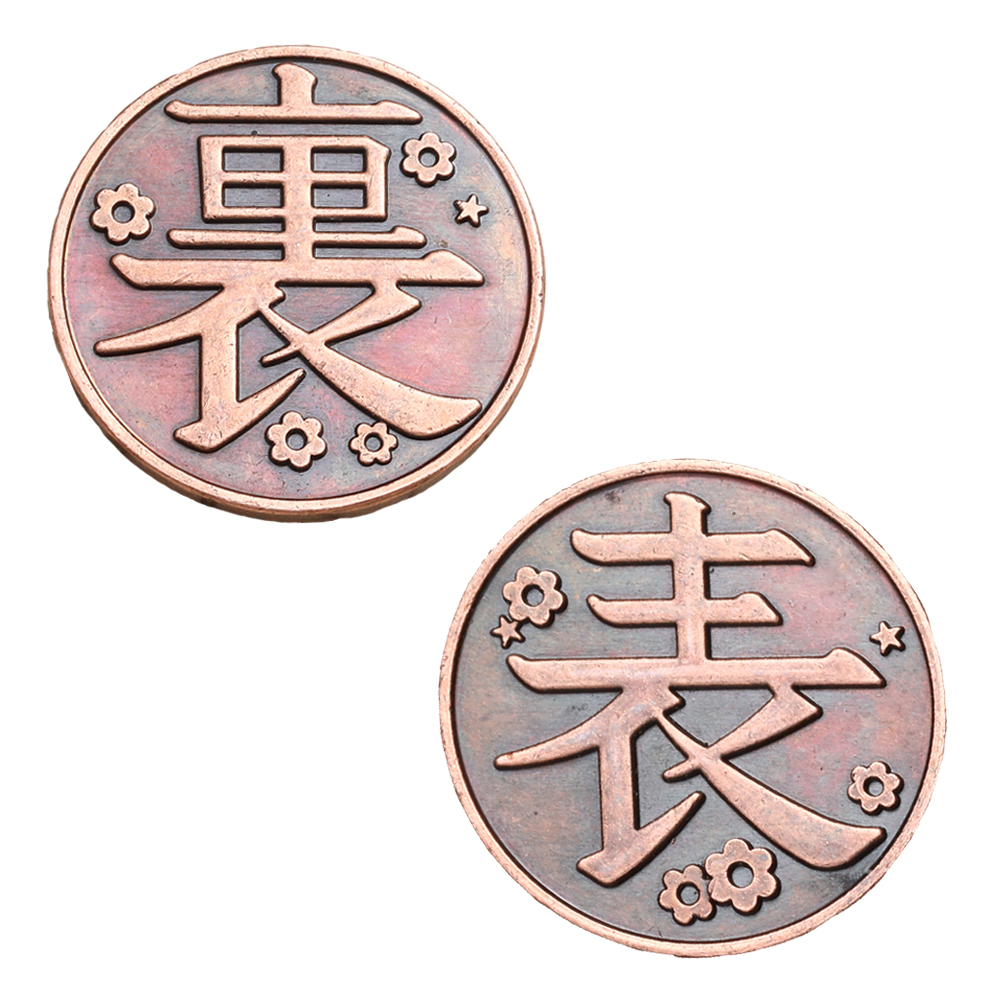 H972880d084694411a7135a2114043ee4s Moeda Anime demon slayer moeda cosplay kimetsu no yaiba tsuyuri kanawo kochou shinobu coletar liga de metal moedas tokens coleção adereços