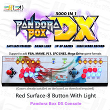 Console Pandora-Box SFC/SNES Game 3d-Game-Support Fba 8-Button New DX Save Ps1 Mame Custom