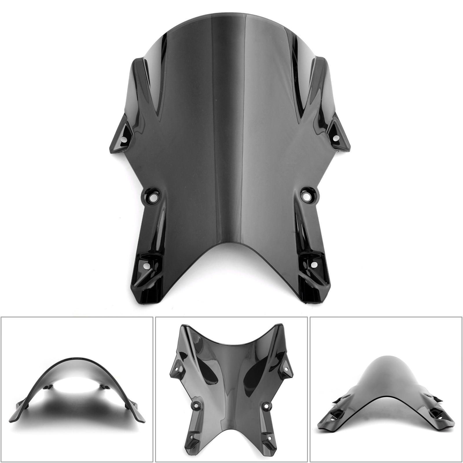Artudatech Moto Parabrisas Motocicleta Delantero Parabrisas Windshield Windscreen para Trium-ph Day-tona 675 2013-2016