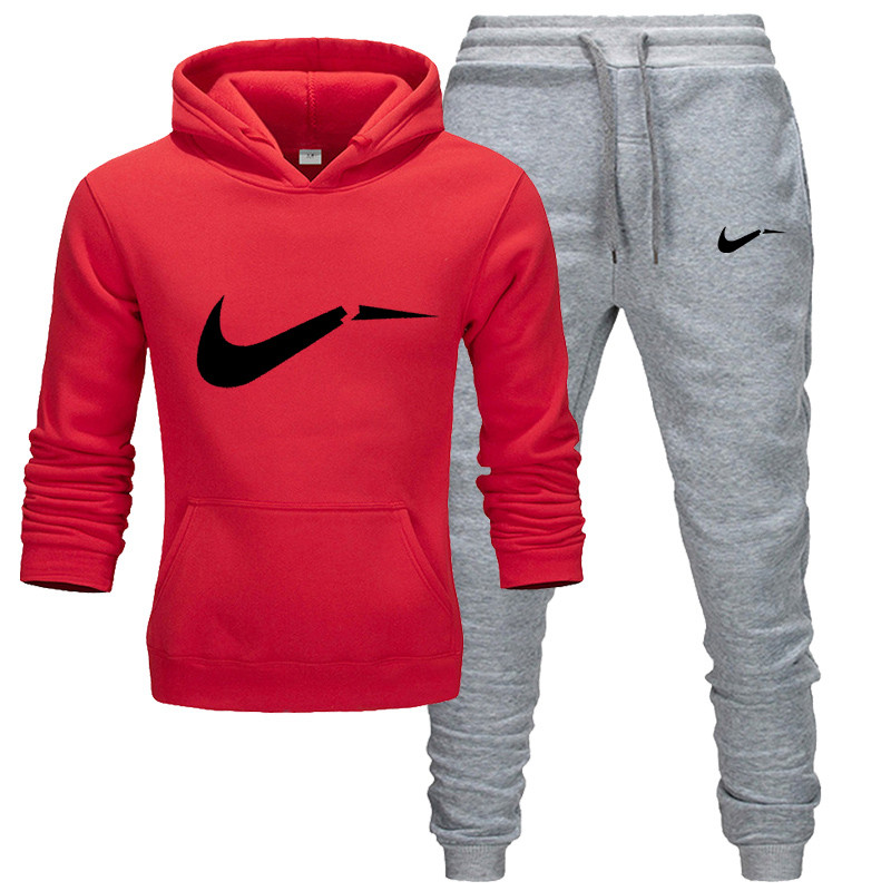 Sportswear Men's Wear Casual Sportswear Winter Hoodie Two-piece Running Clothing Men's Casual Brand Sports Set