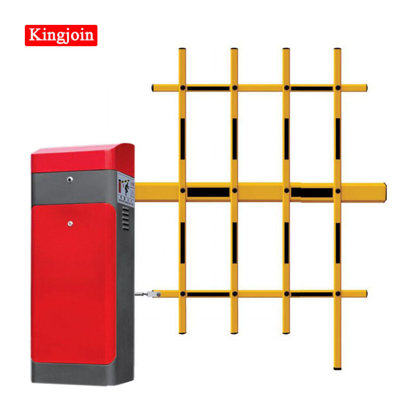 3 Fence Smart Boom Barrier With 1 ~ 5m Boom Telescopic DIY Automatic Electronic Arm Barrier Door Parking Lot Parking Barrier