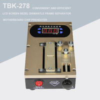 TBK 278 LCD Screen Bezel Dismantle Frame Separator Machine Chip Preheater For Smart Phone Middle Frame Separate