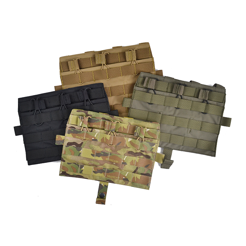 Delustered Crye CP Detachable Flap Triple M4 Mag Flat Panel for AVS CPC JPC TW-M041