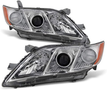 Sulinso For  Model 2007 2008 2009 Toyota Camry Headlights Headlamps Lights Lamps Replacement Driver & Passenger Side