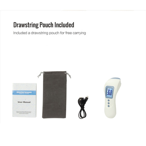 Chargeable baby infant digital thermometer non-contact infrared ir thermometers forehead thermometer Multan