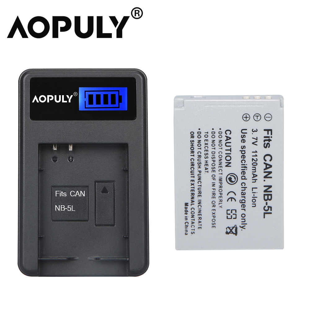 990 980 Battery for Canon NB-5L IXUS 90 SX210 SX220 SX230 S110 new