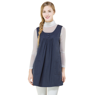 Four Leaf Grass Radiation Proof Clothing Vest For Pregnant Women