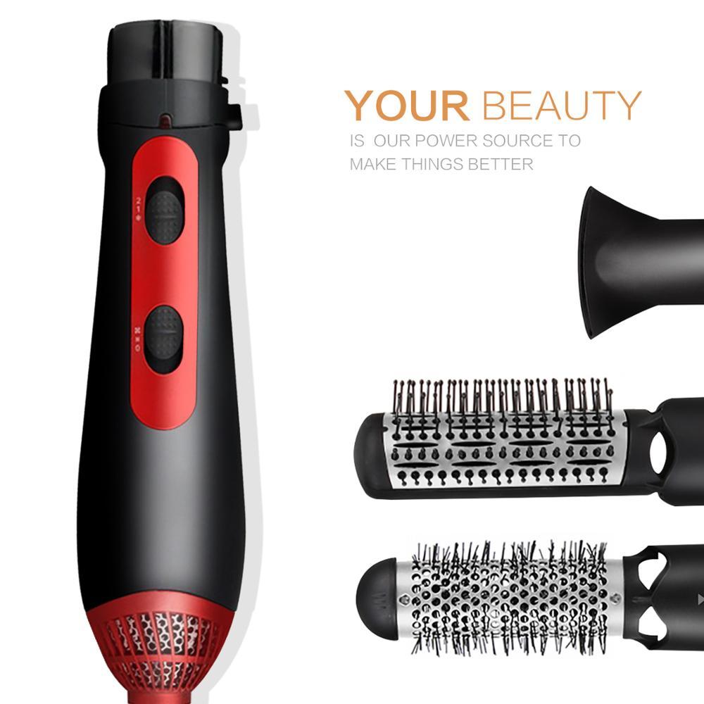 Secador de pelo multifuncional Cepillo de aire caliente Secador de pelo Herramienta de secador de pelo Cepillo de secador de pelo