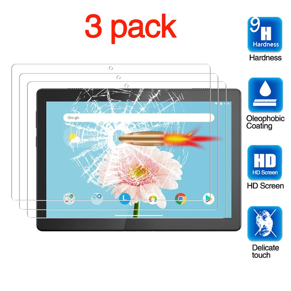 For Lenovo Tab M10 Screen Protector, Tablet Protective Film Anti-Scratch Tempered Glass For Lenovo Tab M10 TB-X605F (10.1
